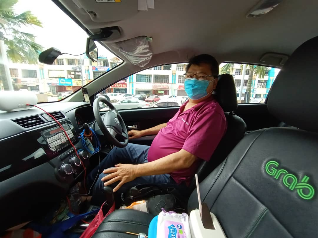 [Franko Tan — Full-time Grab driver. Reposted with his permission.]