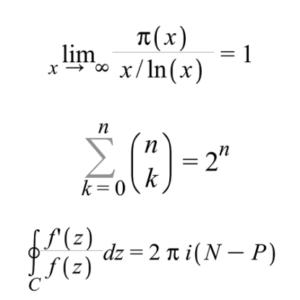 math formulas in real life