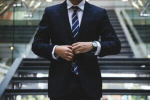 men's dapper suit